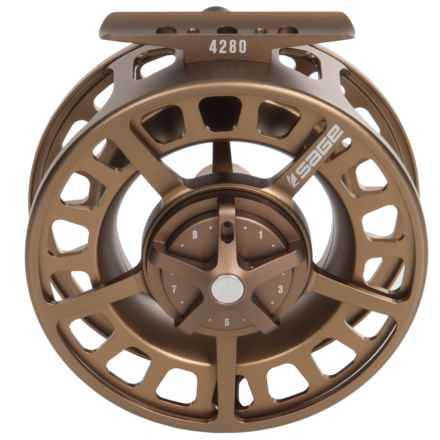 Sage 4280 Fly Reel in Bead Blast Bronze - Closeouts