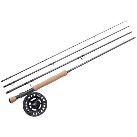 Sage Approach Fly Rod with Reel Outfit - 4-Piece Rod, 9', 9wt in See Photo - Closeouts