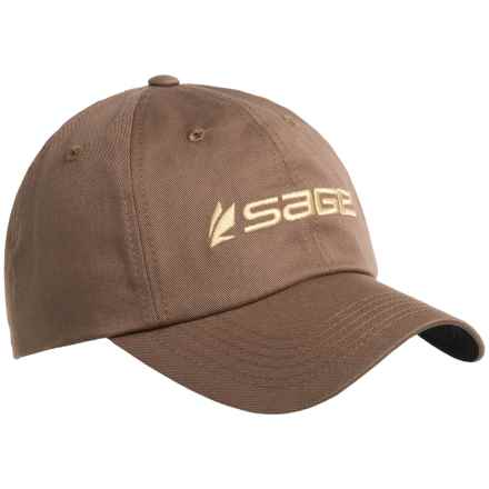 Sage Dun Baseball Cap (For Men) in Carob - Closeouts
