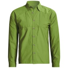 Sage Guide Fishing Shirt - UPF 30, Long Sleeve (For Men) in Grass - Closeouts
