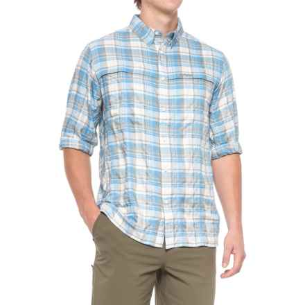 Sage Guide Shirt - UPF 50, Long Sleeve (For Men) in Glacier - Closeouts