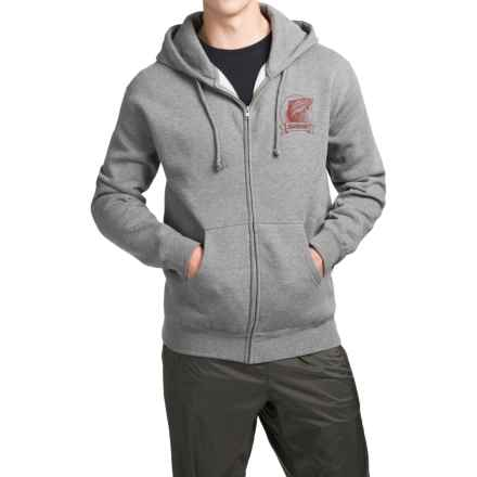 Sage Heritage Hoodie (For Men) in Gunmetal Heather - Closeouts