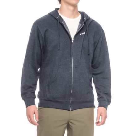 Sage Heritage Hoodie - Full Zip (For Men) in Heather Blue - Closeouts