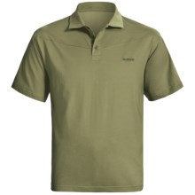 Sage High-Performance Polo Shirt - UPF 30+, Short Sleeve (For Men) in Sage - Closeouts