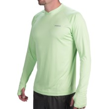 Sage Keys Crew Shirt - UPF 30+, Long Sleeve (For Men) in Equator - Closeouts