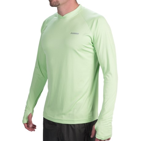 Sage Keys Crew Shirt UPF 30+, Long Sleeve (For Men)