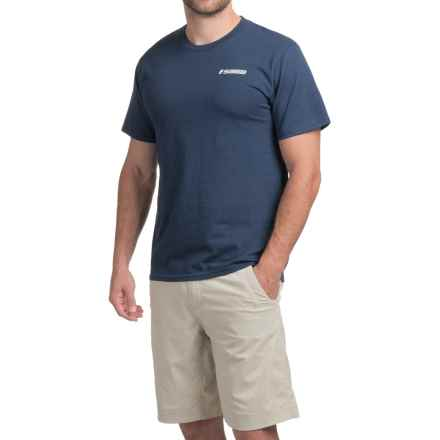 Sage On the Water T-Shirt - Short Sleeve (For Men) in Navy - Closeouts