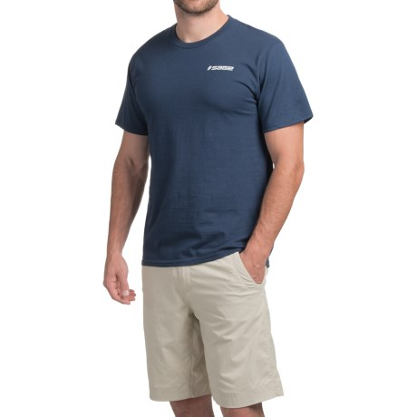 Sage On the Water T-Shirt - Short Sleeve (For Men) in Navy