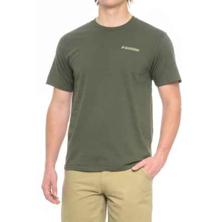 Sage On the Water T-Shirt - Short Sleeve (For Men) in Olive Green - Closeouts