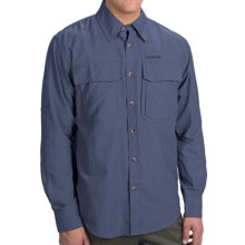 Sage Opala Guideshirt - Long Sleeve (For Men) in Offshore Blue - Closeouts
