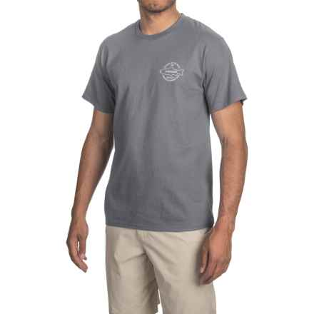 Sage Origins T-Shirt - Short Sleeve (For Men) in Charcoal - Closeouts