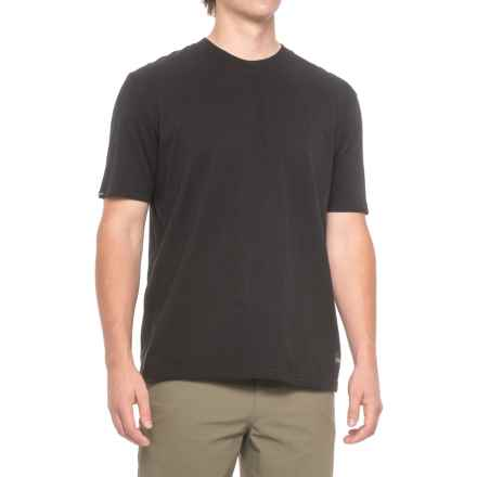 Sage Patch Logo T-Shirt - Short Sleeve (For Men) in Black - Closeouts