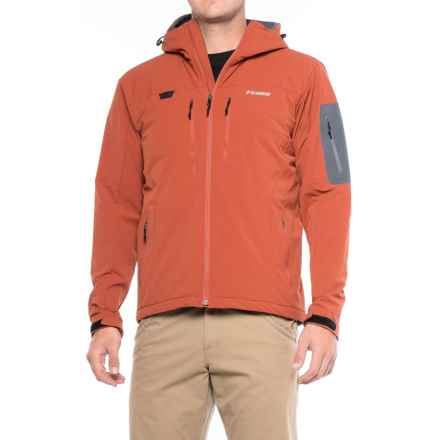Sage Quest Soft Shell PrimaLoft® Hooded Jacket - Insulated (For Men) in Canyon - Closeouts