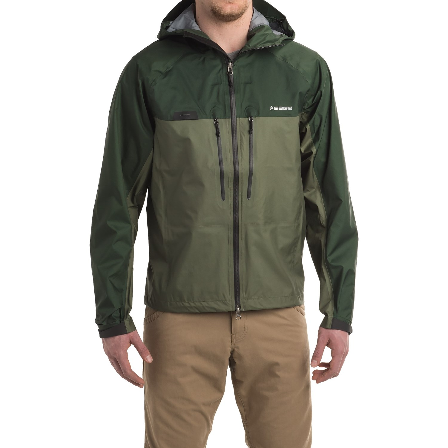 Sage Quest Ultralight Hooded Rain Jacket (For Men) - Save 70%