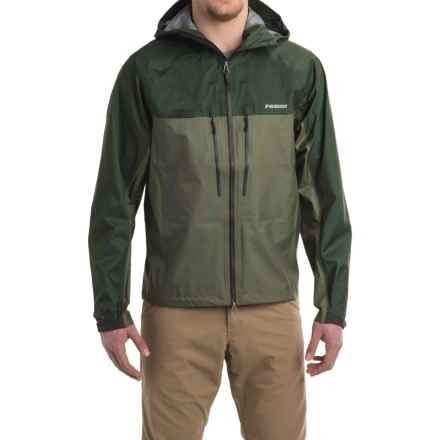 Sage Quest Ultralight Hooded Rain Jacket - Waterproof (For Men) in Deep Green - Closeouts