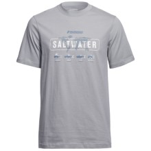 Sage Saltwater T-Shirt - Short Sleeve (For Men) in Smoke - Closeouts