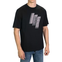 Sage Slice of Life T-Shirt - Short Sleeve (For Men) in Black - Closeouts