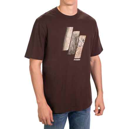 Sage Slice of Life T-Shirt - Short Sleeve (For Men) in Espresso - Closeouts