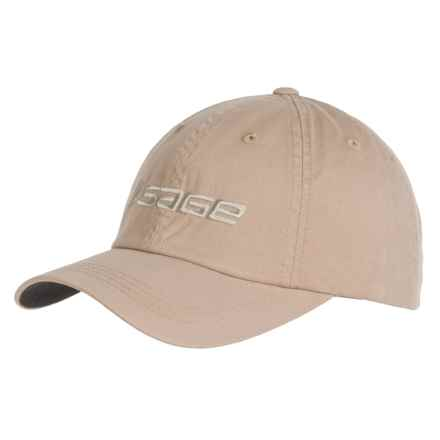 Sage Soft Crown Baseball Cap (For Men) in Khaki - Closeouts