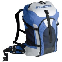 Sage Technical Field Fishing Backpack in Cobalt/Storm - Closeouts