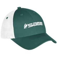 Sage Trucker Hat in Green - Closeouts