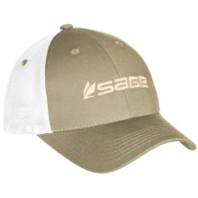 Sage Trucker Hat in Sand - Closeouts