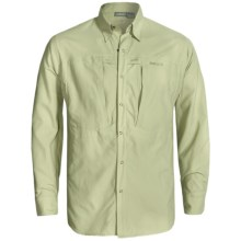 Sage Vapor Fishing Shirt - UPF 30+, Long Sleeve (For Men) in Light Sage - Closeouts