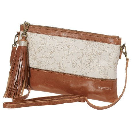 Sakroots Artist Circle Clutch - Removable Strap (For Women) in Stone