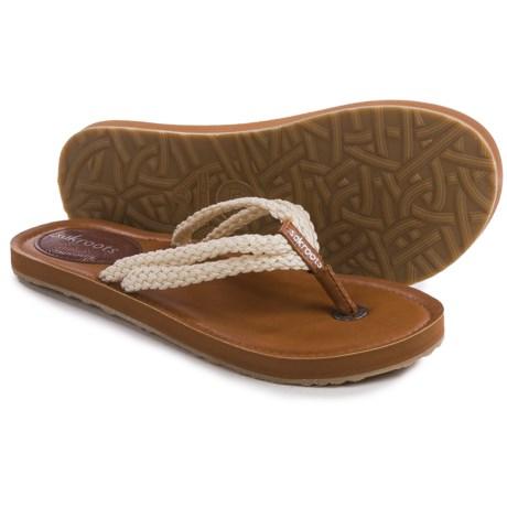 Sakroots Bethanny Flip-Flops (For Women)