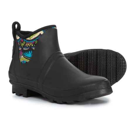 Sakroots Mano Ankle Rain Boots - Waterproof (For Women) in Radiant One World - Closeouts