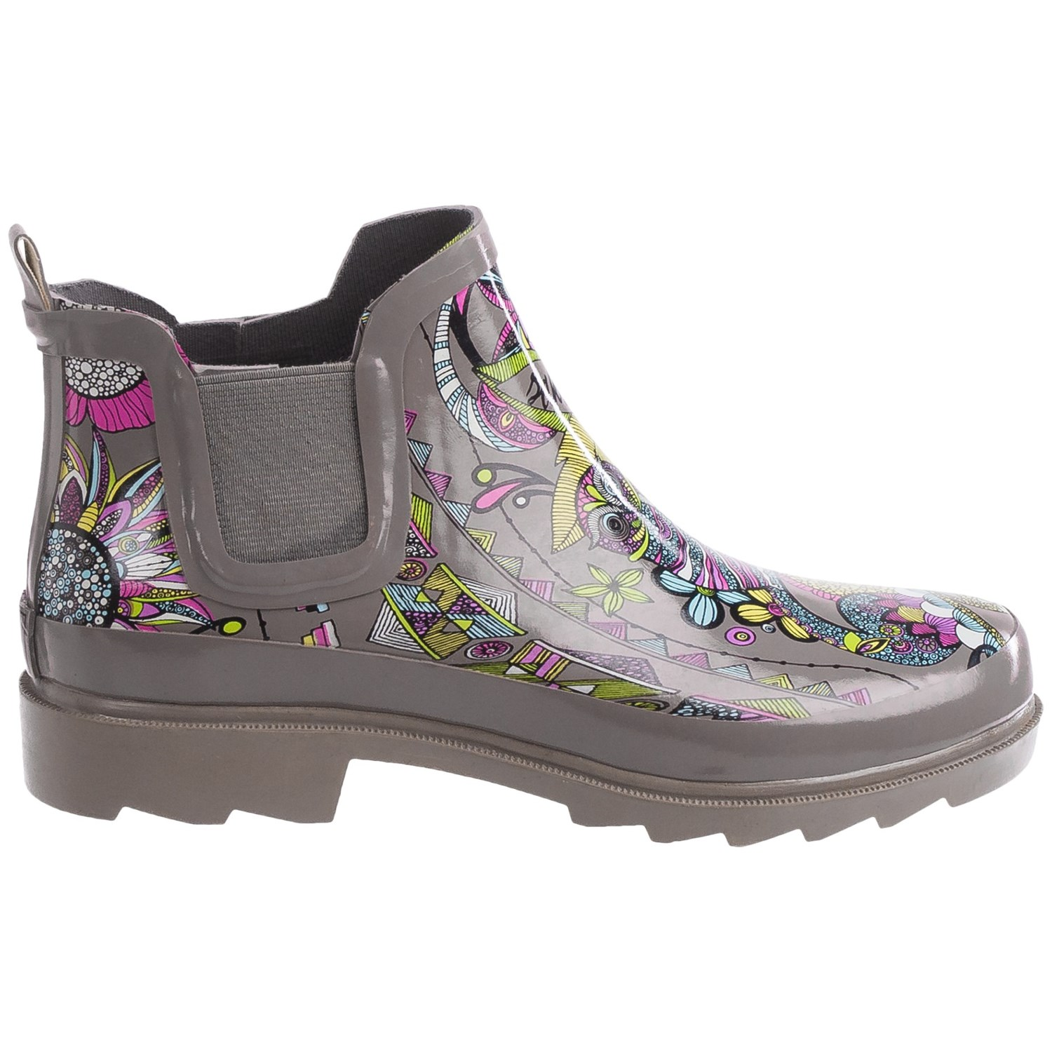 womens rubber ankle rain boots