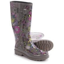 Sakroots Rhythm Rubber Rain Boots - Waterproof (For Women) in Sterling Spirit Desert - Closeouts