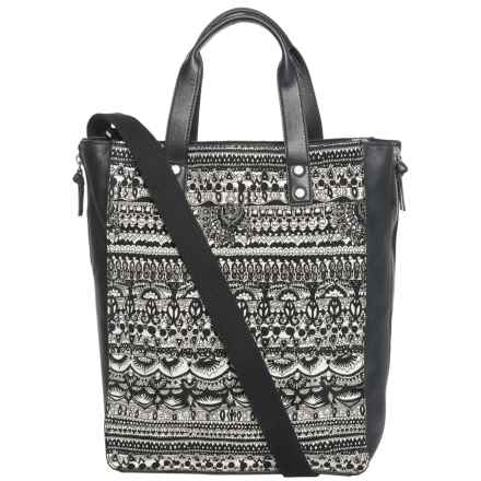 Sakroots Seni Shopping Tote Bag (For Women) in Black - Closeouts