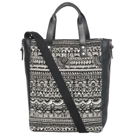 Sakroots Seni Shopping Tote Bag (For Women) in Black