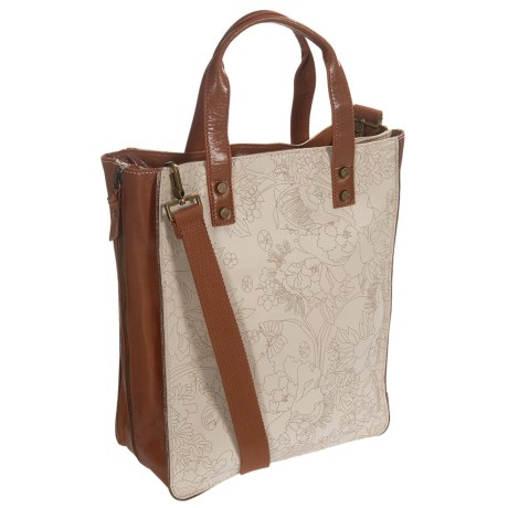 Sakroots Seni Shopping Tote Bag (For Women) in Stone