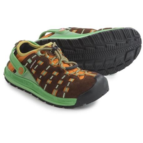 Salewa Capsico PrimaLoft® Shoes - Insulated (For Women) in Chocolate/Sun