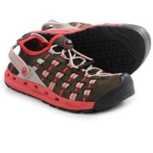 Salewa Capsico Water Shoes (For Women) in Ebano/Poppy Red - Closeouts