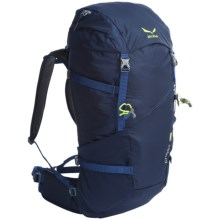 Salewa Crest 36 Backpack - Internal Frame in Navy - Closeouts