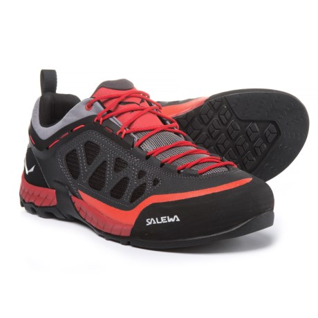 Salewa Firetail 3 Hiking Shoes (For Men) in Magnet/Papavero
