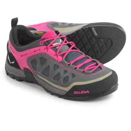 Salewa Firetail 3 Hiking Shoes (For Women) in Pewter/Pinky - Closeouts