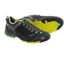 Salewa Firetail EVO Gore-Tex® Trail Shoes - Waterproof (For Men) in Black/Emerald - Closeouts