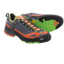 Salewa Firetail EVO Gore-Tex® Trail Shoes - Waterproof (For Men) in Smoke/Grenatine - Closeouts