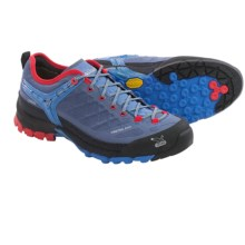 Salewa Firetail EVO Gore-Tex® Trail Shoes - Waterproof (For Women) in Blue Jeans/Poppy Red - Closeouts