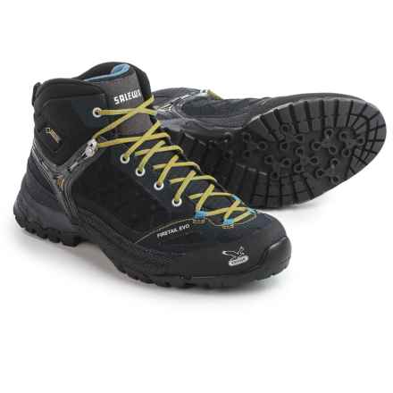 Salewa Firetail EVO Mid Gore-Tex® Hiking Boots - Waterproof (For Women) in Black/Gneiss - Closeouts