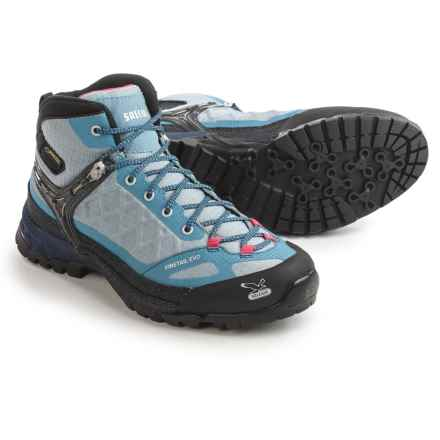 Salewa Firetail EVO Mid Gore-Tex® Hiking Boots - Waterproof (For Women) in Moon/Iceland - Closeouts