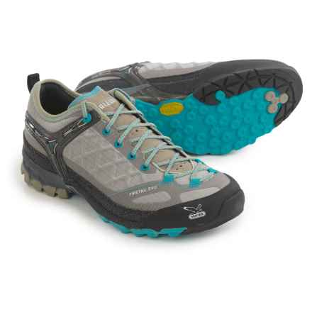 Salewa Firetail Evo Trail Shoes (For Women) in Juta/River Blue - Closeouts