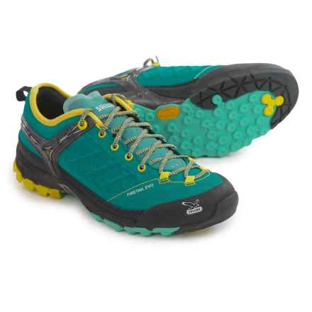 Salewa Firetail Evo Trail Shoes (For Women) in Venom/Citro - Closeouts
