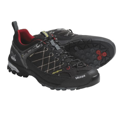 Salewa Firetail Gore-Tex® Hiking Shoes - Waterproof (For Men) in Chlorophil/Cactus