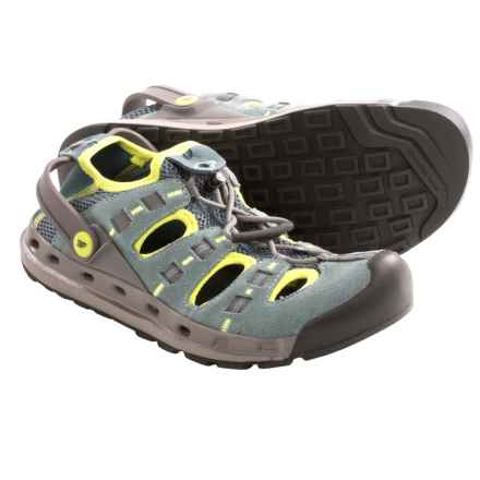 Salewa Heelhook Water Shoes (For Women) in Juniper/Marsh - Closeouts