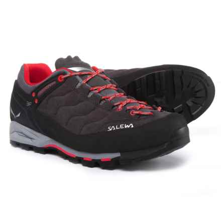 Salewa Mountain Trainer Hiking Shoes (For Men) in Magnet/Papavero - Closeouts